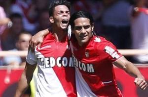 Monaco 4-1 Montpellier: Riviere hat trick downs visitors