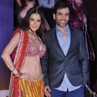 Tusshar Kapoor Turns Knight In Shining Armour For Sunny Leone
