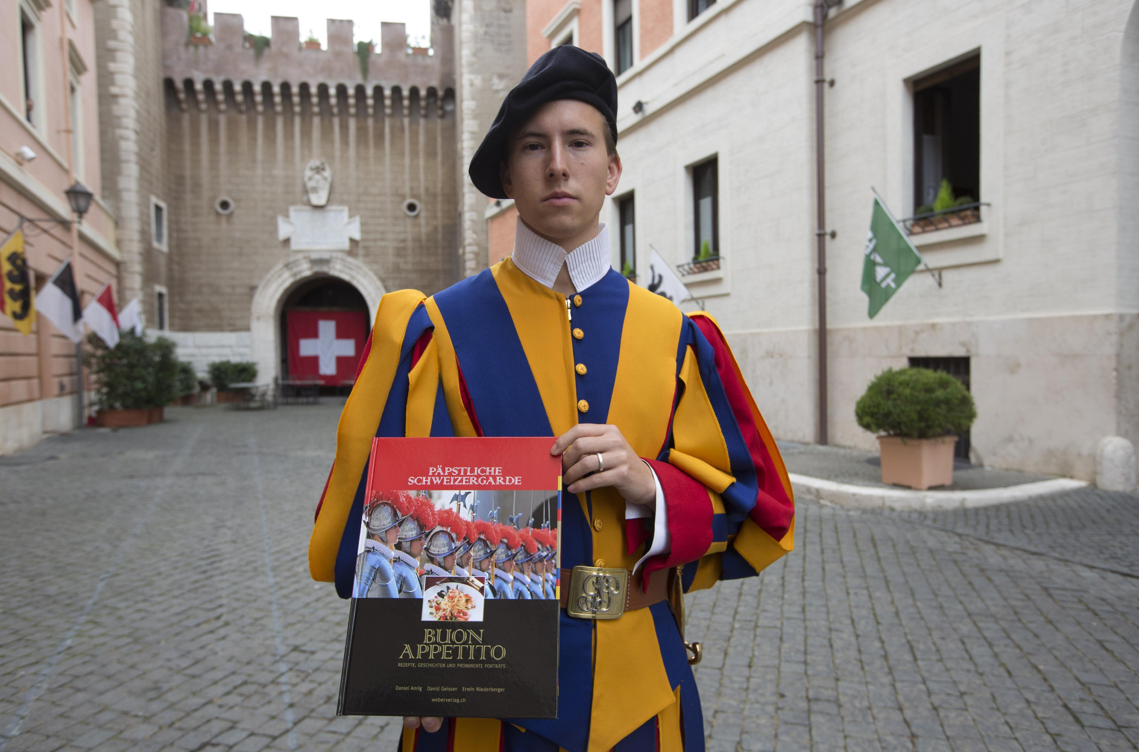 Swiss Guard's cookbook reveals Vatican culinary treats