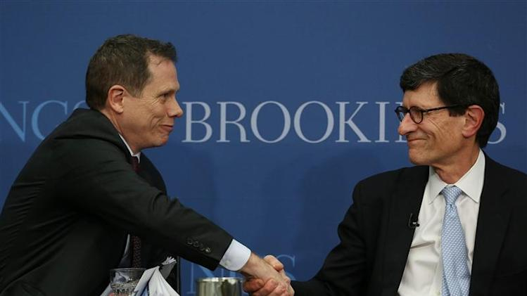 Berner and Reid appear at Brookings Institution panel in Washington