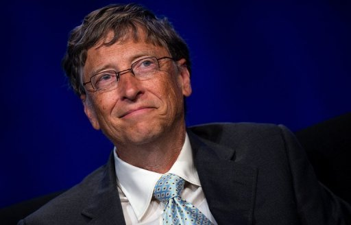 Microsoft co-founder turned global philanthropist Bill Gates
