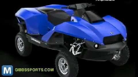Quadski Amphibious ATV Hops From Land to Water in Seconds