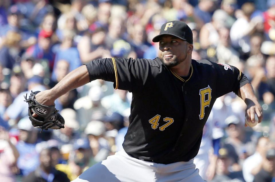 Pirates fall to Cubs, blunting NL Central hopes