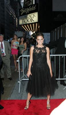 Josie Maran at the New York premiere of Revolution Studio's Little Black Book