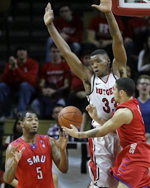 Moore leads No. 23 SMU to 77-65 win over Rutgers