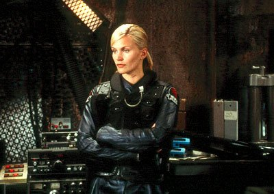 Natasha Henstridge as Lt. Melanie Ballard in Screen Gems' John Carpenter's Ghosts of Mars