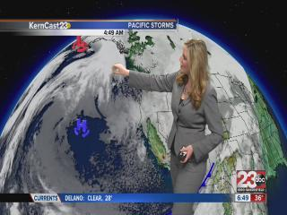 Friday forecast: drying but staying cold