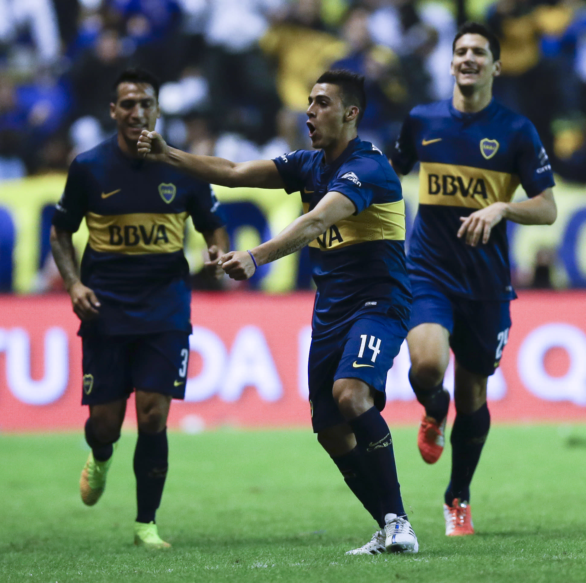 Boca beats River 2-0 in Superclasico to top Argentine table