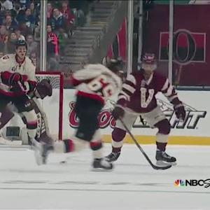 Erik Karlsson wrists one through traffic