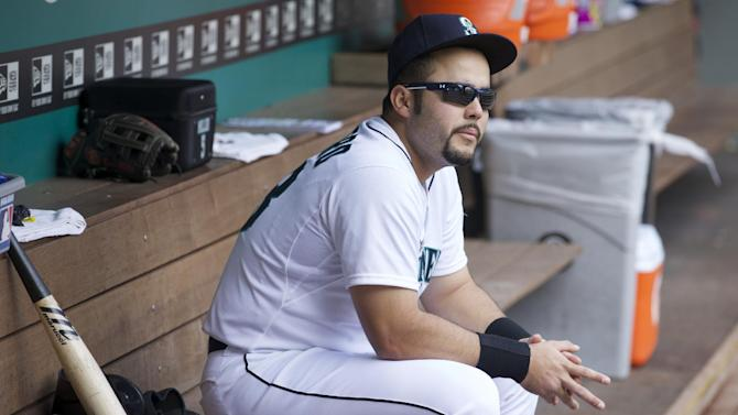 Mariners put INF-DH Montero on suspended list