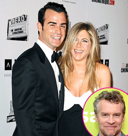 "Jennifer Aniston's Ex-Boyfriend Tate Donovan on Her Engagement to Justin Theroux: ""I Am Very Happy for Her"""