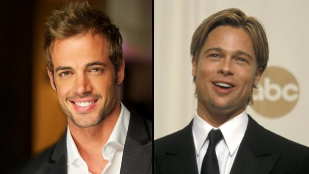 William Levy in 2011 and Brad Pitt in 2000 -- Getty Images