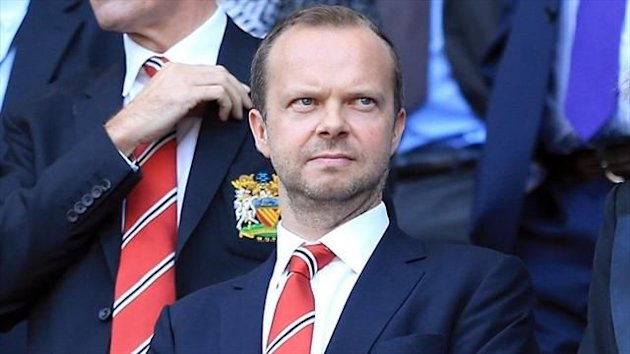 Manchester United executive vice-chairman Ed Woodward announced record quarterly revenues