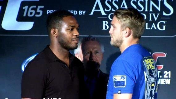 UFC 165 Jones vs. Gustafsson Weigh-in Results: Both Title Fights Are Set