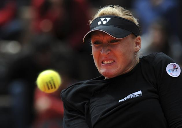 Elena Baltacha Of England Eyes AFP/Getty Images