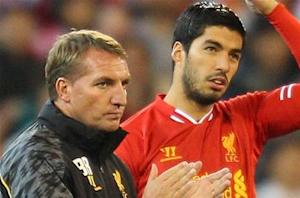 Rodgers thrilled with Suarez-less Liverpool