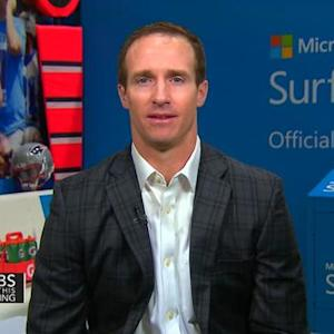 Saints quarterback Drew Brees on football deflation scandal, Super Bowl and family