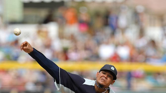 MLB: Spring Training-Los Angeles Dodgers at Seattle Mariners