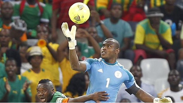 African Cup of Nations - Nigeria keeper Enyeama rages at 'worst ever call'