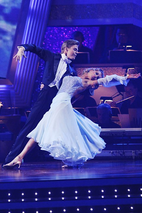 JoAnne Krupa and Derek Hough …