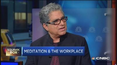 Deepak Chopra: Why Wall Streeters need to meditate