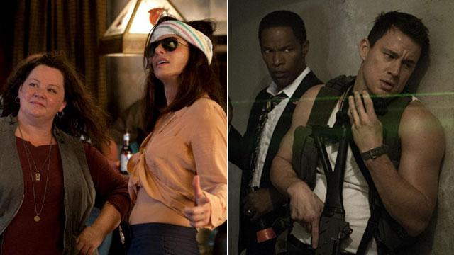 'Heat' Sizzles, 'White House Down' Disappoints