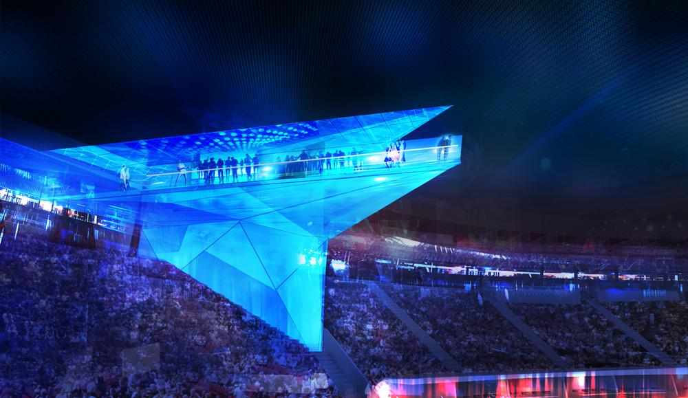 Introducing the Stadium of the Future, Where Technology is King