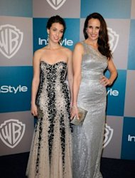 Actresses Rainey Qualley with her mother Andie MacDowell pictured in January 2012. You wouldn&#39;t think that MacDowell would have confidence problems. But the US actress and long-time face of cosmetic giant L&#39;Oreal insists she is like any other woman getting older
