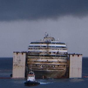 STORM DELAYS CRUISE CLEAN-UP