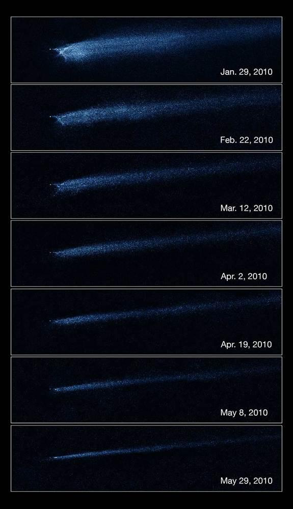 Strange Asteroid's Long Tail Revealed