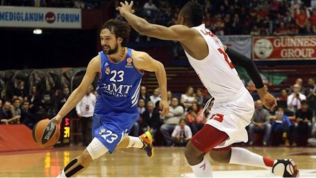 Euroleague - Armani Milan-Real Madrid: Primer puesto amarrado (71-78)