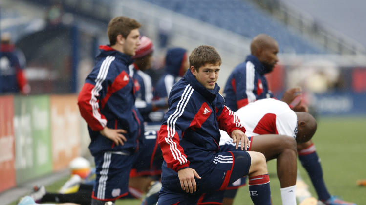 MLS: New York Red Bulls at New England Revolution