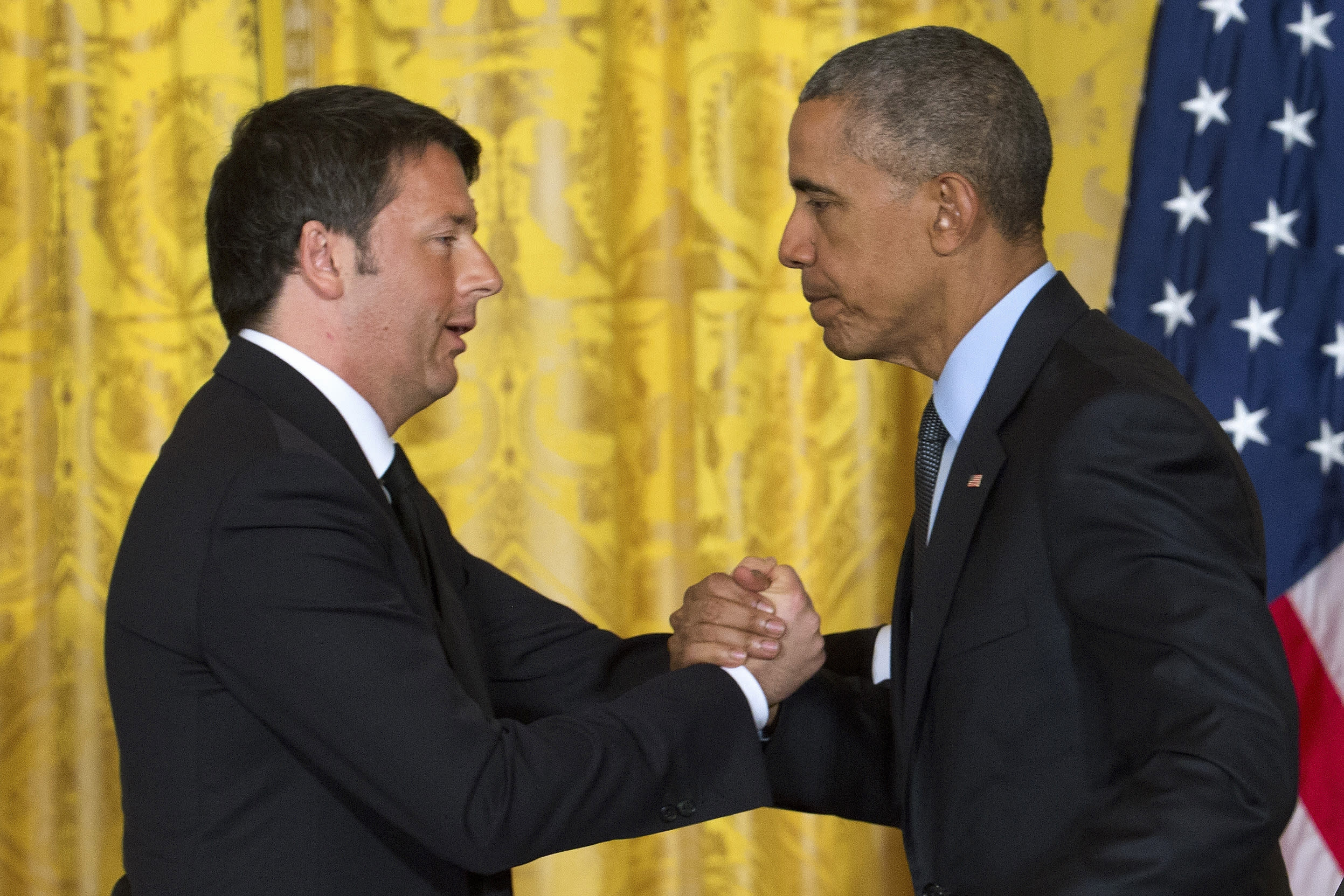 Obama, Italian Prime Minister Renzi to meet at White House