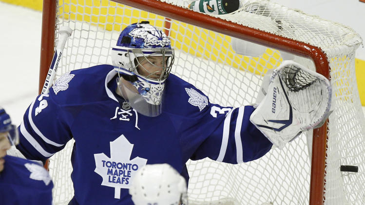 NHL: Tampa Bay Lightning at Toronto Maple Leafs