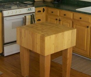 Butcher block cleaner