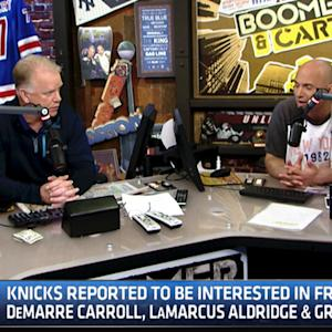 Boomer & Carton: Knicks interested in free agents