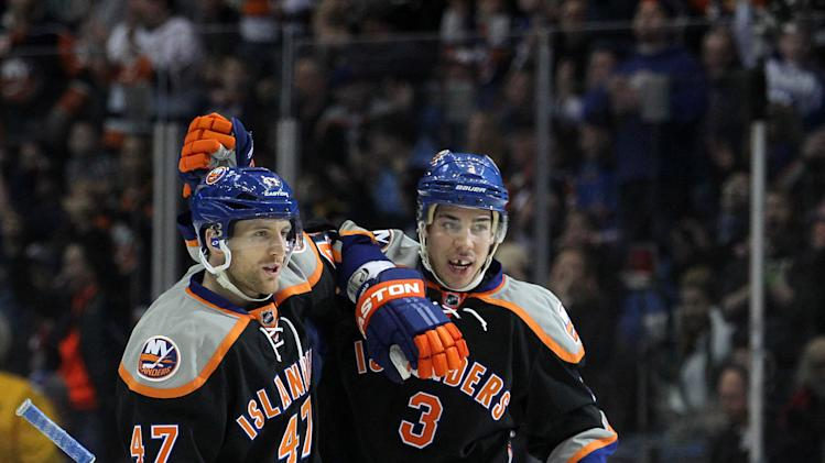 NHL: Florida Panthers at New York Islanders