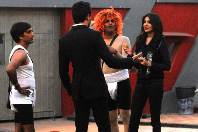 Imran and Anushka on 'Bigg Boss'