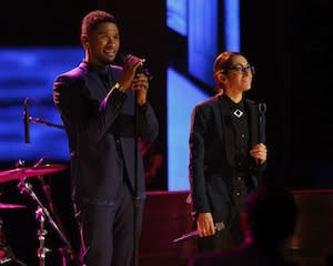 The Voice Exclusive: Usher Talks 'Personal' Connection to Michelle Chamuel's Journey