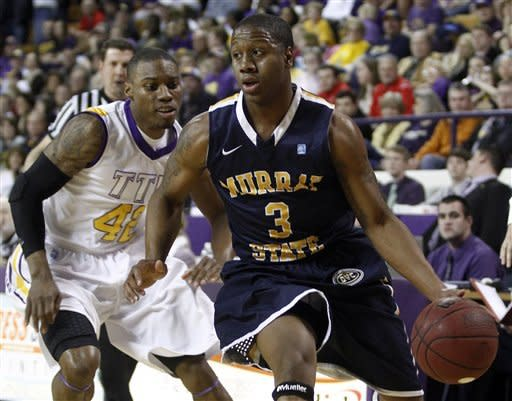 No. 14 Murray State beats Tennessee Tech 69-64