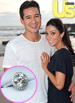Mario Lopez Engaged to Courtney Mazza!