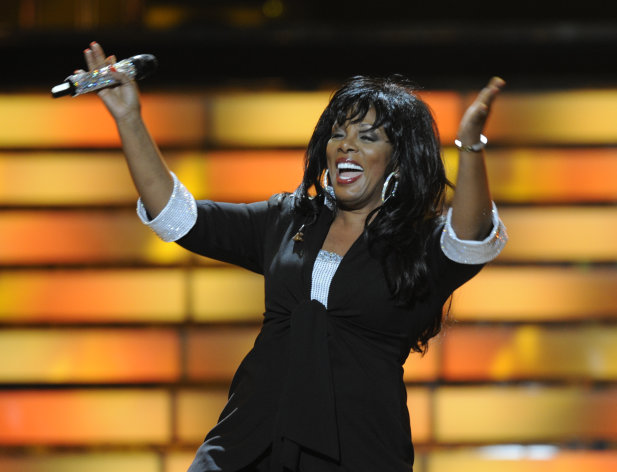 FILE - In this May 21, 2008 file photo, Donna Summer performs during the finale of &quot;American Idol&quot; at the Nokia Theatre in Los Angeles. Summer, the Queen of Disco who ruled the dance floors with anthems like Last Dance, Love to Love You Baby and Bad Girl, has died. Her family announced her death in a statement Thursday, May 17, 2012. She was 63. (AP Photo/Kevork Djansezian, File)