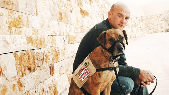 VA Cuts Funding for Service Dogs for PTSD Veterans