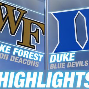 Wake Forest vs Duke | 2015 ACC Women's Tournament Highlights