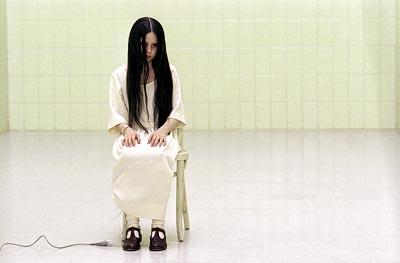 Daveigh Chase as a mysterious little girl named Samara in Dreamworks' The Ring