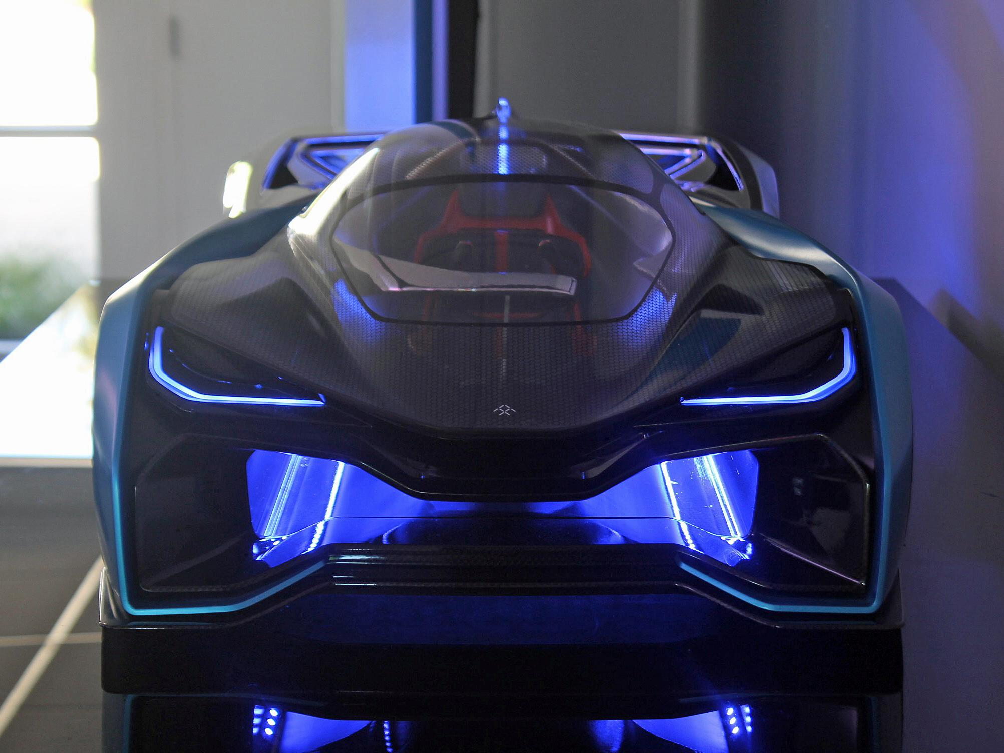 Electric-car startup Faraday Future is already in expansion mode