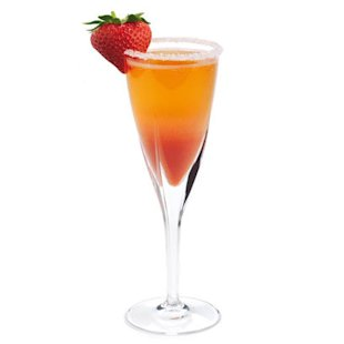 Cocktail with Strawberry: Recipe