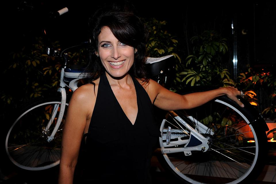 "Lisa Edelstein of ""House"" celebrates at the 2010 Fox Fall Eco-Casino party on September 13, 2010, at Boa in West Hollywood."