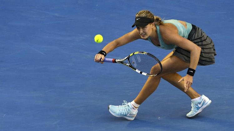 Bouchard into quarterfinals at Australian Open