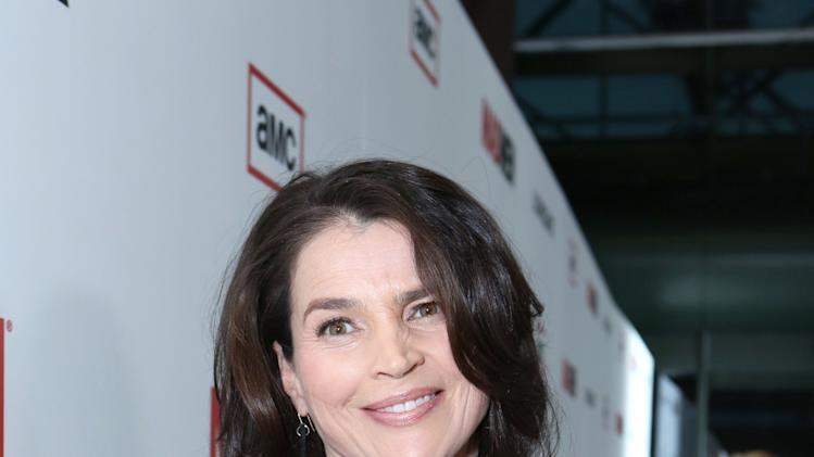 Julia Ormond at the AMC Season 6 Premiere of Mad Men , on Wednesday, March, 20, 2013 in Los Angeles. (Photo by Alexandra Wyman/Invision for AMC/AP Images)
